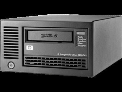 Hình ảnh HPE StoreEver LTO-5 Ultrium 3280 SAS External Tape Drive (EH900B)
