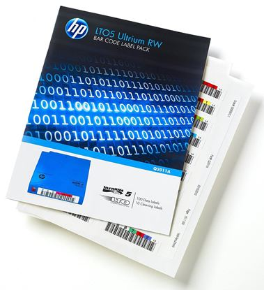 Picture of HP LTO5 Ultrium RW Bar Code Label Pack (Q2011A)