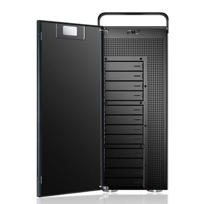 Hình ảnh Sans Digital AccuNAS AN12L+B - NAS + iSCSI 12 Bay 64bit Network Storage Server Tower - Black (AN12L+B)