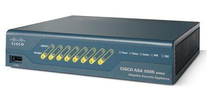 Picture of Cisco ASA 5505 Sec Plus Appliance with SW, UL Users, HA, 3DES/AES (ASA5505-SEC-BUN-K9)
