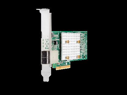Picture of HPE Smart Array E208e-p SR Gen10 (8 External Lanes/No Cache) 12G SAS PCIe Plug-in Controller (804398-B2)