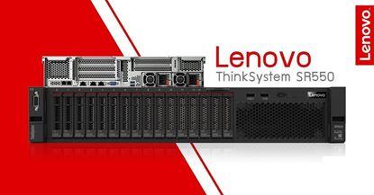 Hình ảnh Lenovo ThinkSystem SR550 SFF Silver 4208
