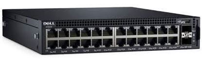 Hình ảnh Dell Networking X1026P Smart Web Managed Switch, 24x 1GbE PoE (up to 12x PoE+) and 2x 1GbE SFP ports
